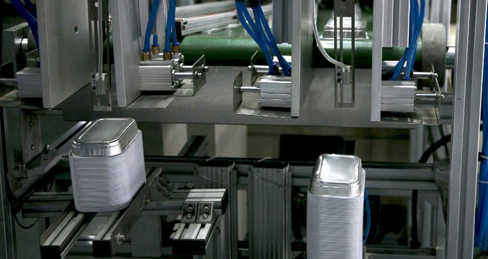 Aluminium Foil Container Production Line 60T