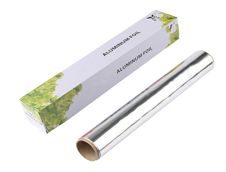 Household aluminum foil roll introduction