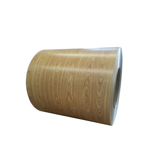Wooden Grain Color Coated Aluminum Coil Aluminum