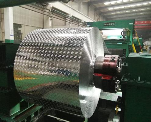 Checker Finish Aluminum Sheet 01