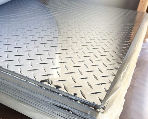 Checker Finish Aluminum Sheet 03