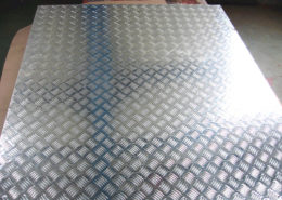 Checker Finish Aluminum Sheet 04