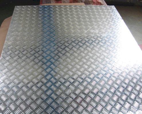 Checker Finish Aluminum Sheet 04