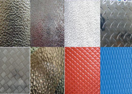 Embossed Finish Aluminum Sheet 03