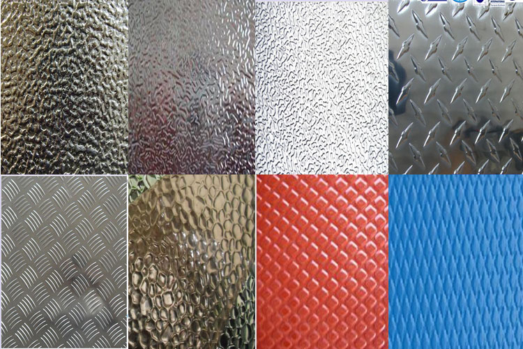 Embossed Finish Aluminum Sheet 03