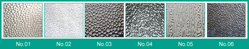 Surface of Embossed Finish Aluminum Sheets