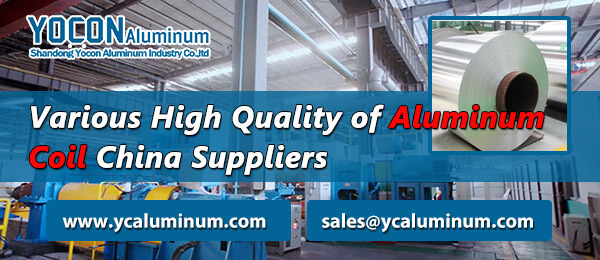 Various High Quality of Aluminum Coil China Suppliers